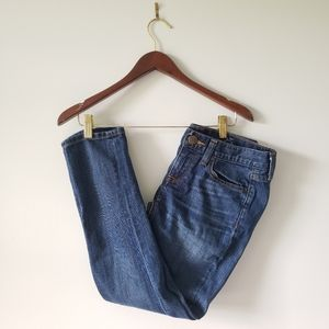 J. Crew Cropped Matchstick Jeans 25